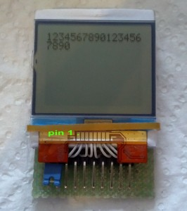 nokia 1100 lcd pcf8814